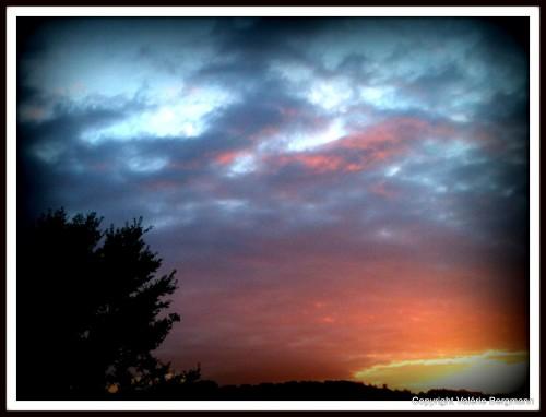 ciel, soleil, nuages, couleurs, les chanaux