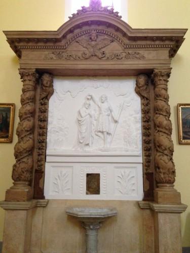 photos, paroisse, église, colonnes, gréco-romaine,,façade, intèrieur, décoration, dieu, vierge, croix, saints, ornements