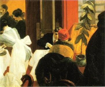 art, exposition, paris, peinture, réaliste, newyork, restaurant, , Hopper