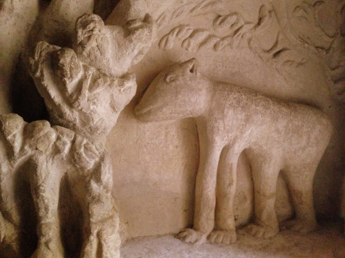 photos, art naïf, facteur cheval, palais idéal, mosquée, animaux, visionnaire,sculpture, tombeau, grottes, cariatides, stalagmites, relief,maisons, ,
