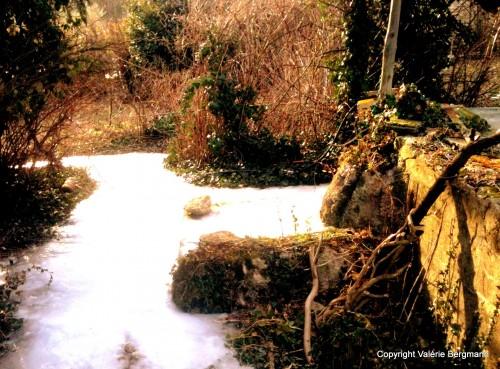 photo, neige, nature, couleurs, paysage
