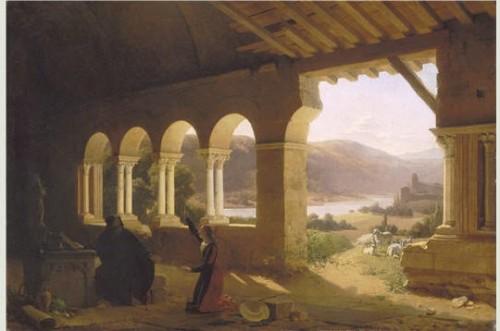 peinture, peintre, Fleury Richard, Lyon, 19ème siècle