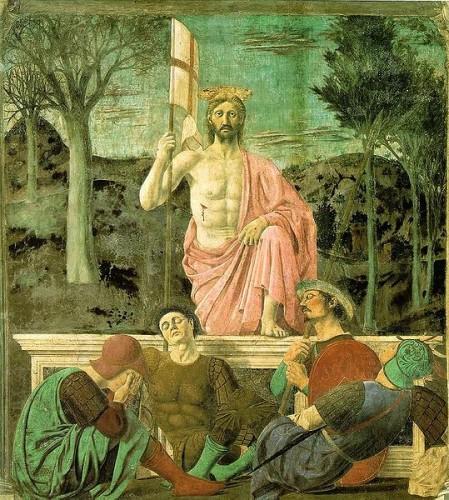 résurrection, Della Francesca, art, peinture