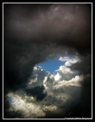 photo, ciel, nuages, couleurs, ombres, lumières,