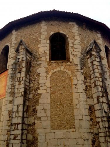 photos, Die, Drôme, cathédrale, cadran solaire, clocher,Dieu,  autel, vierge, Notre-Dame, gothique, roman, religion, catholique, cadran solaire, colonnes, tourisme