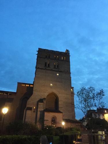 Cathédrale, brique, terre cuite, gothique, Sainte etienne, Toulouse, religion, édifice, tourisme, visiite